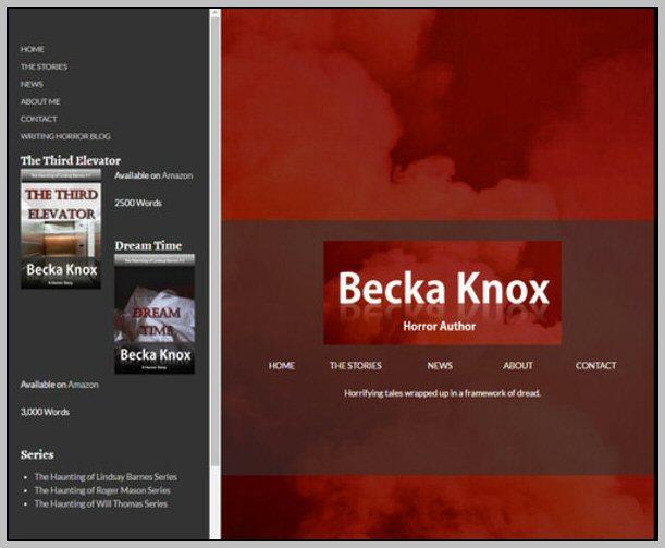 Becka Knox - Web Site