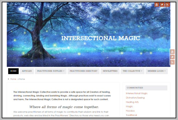 Web Site - Magic